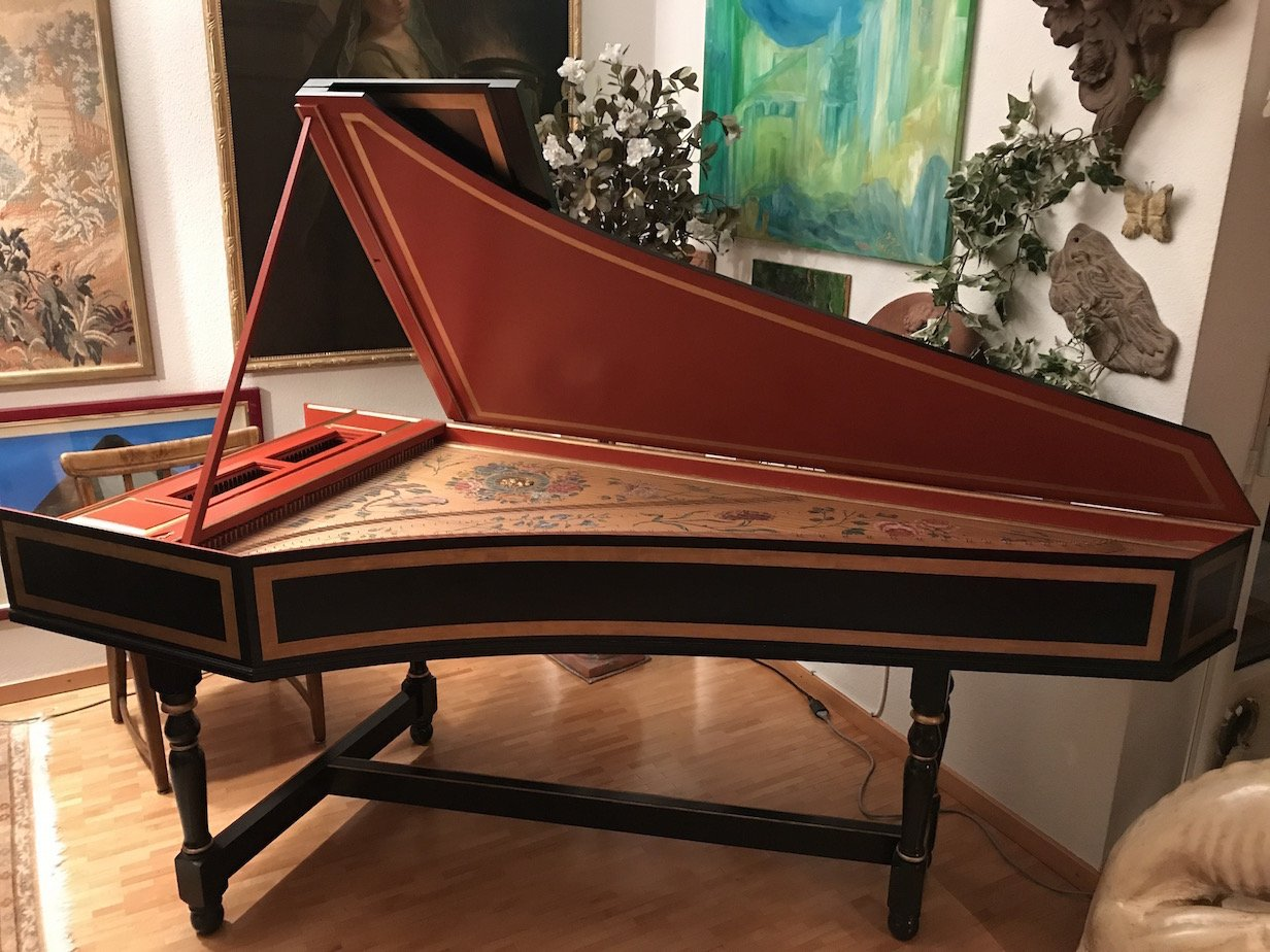 For Sale British Harpsichord Society